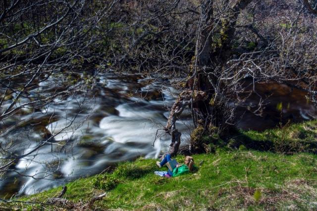River Tromie in Cairngorms National Park, Scotland