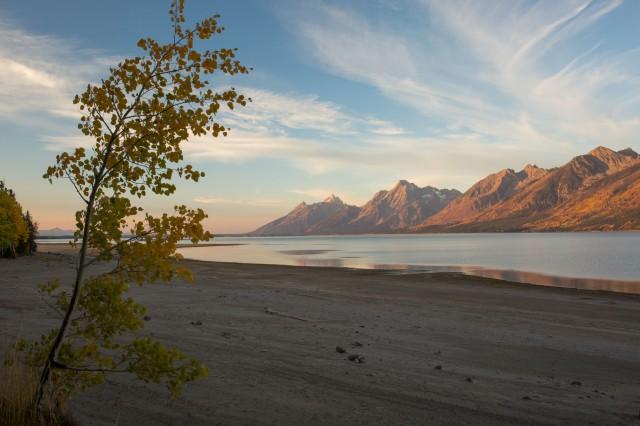 Dawn over Jackson Lake